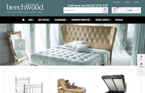 Beechwood Bed Centre (web design & web development)