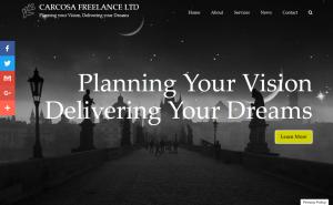 Carcosa Freelance (web design portfolio)