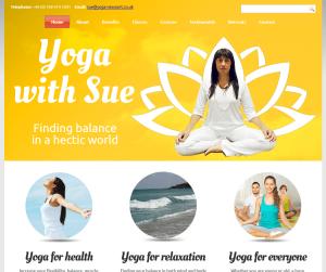 Yoga With Sue Baynham-Evans in Caerleon, Newport
