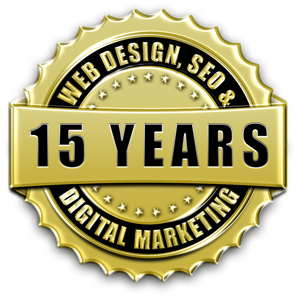 Over 15 years of professional website design & web development