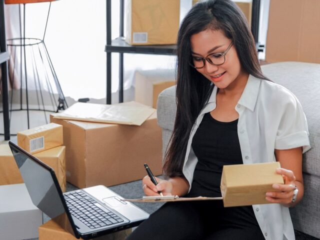 Small business online markting - fulfilling orders
