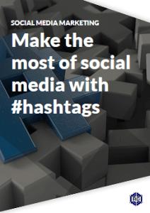 Hashtags for social media marketing
