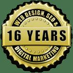 Over 15 years of professional website design & web development