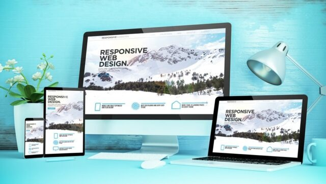 Static websites - still responsive